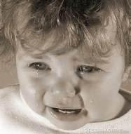 tearful toddler
